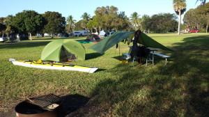 FFF Camp site